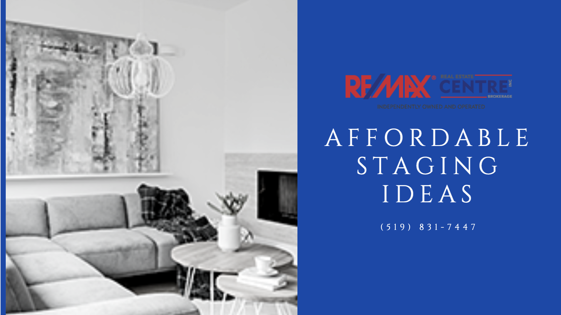 Affordable Staging Ideas - Guelph Realtors